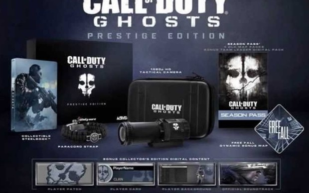 Prestige Edition de Call of Duty: Ghosts (Foto: Divulgação)
