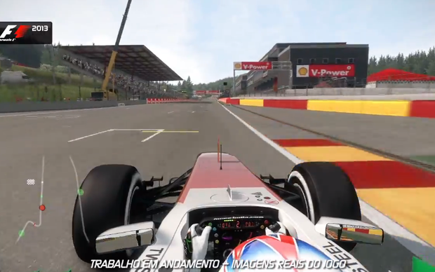 F1 2013 mostra gráficos incríveis e narração em português