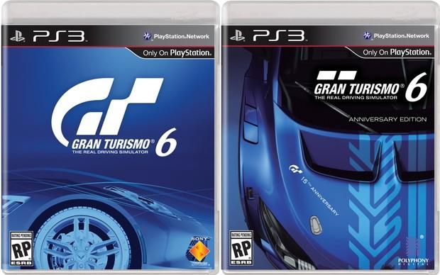 Capas de Gran Turismo 6 (Foto: Divulgação)