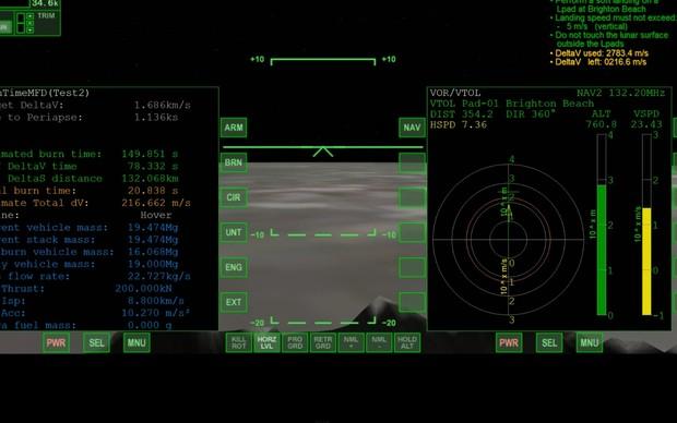 Orbiter Space Flight Simulator (Foto: Reprodução)