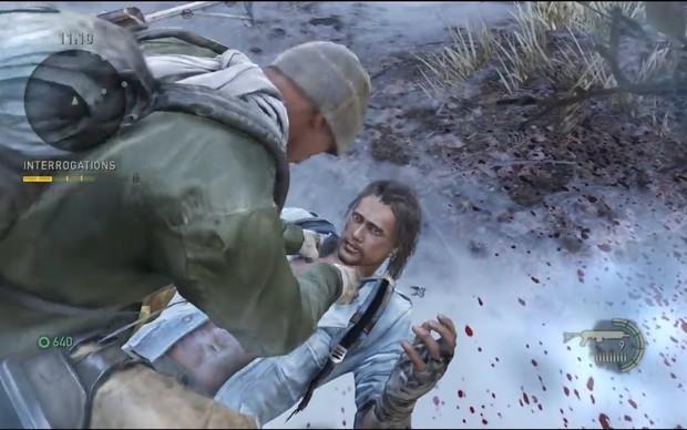 Interrogue inimigos em The Last of Us (Foto: Reprodução)