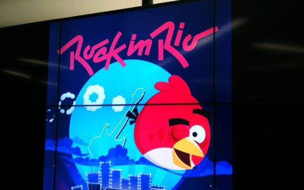 Angry Birds Friends ganhará tema do Rock in Rio  (Foto: Felipe Vinha / TechTudo)