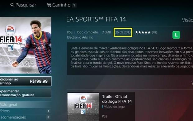 Fifa 14: versão em disco sofrerá atraso Fifa_14