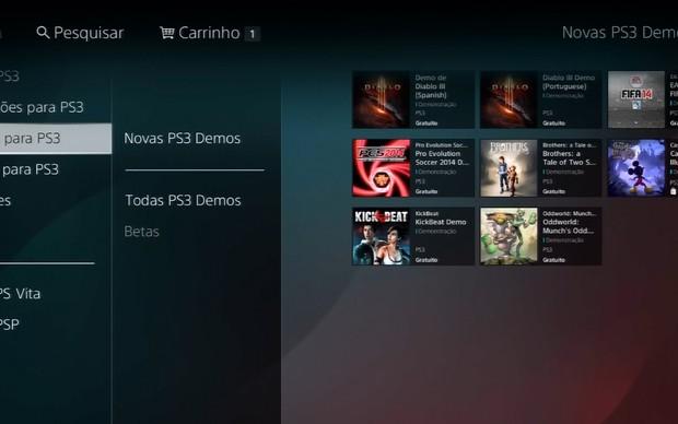 Demo de PES 2014 já está disponível na PSN (Foto: Reprodução / TechTudo)