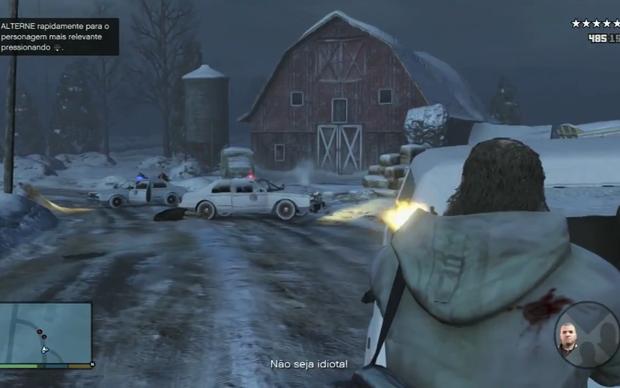 Sistema de mira foi modificado em GTA 5 (Foto: Reprodução / TechTudo)