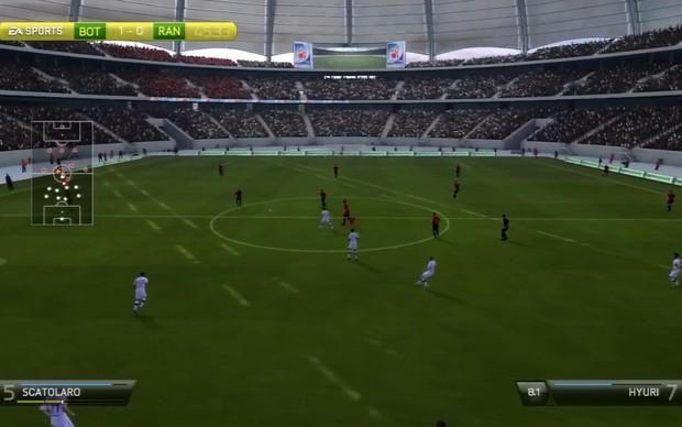 Modo Be a Pro de Fifa 14 (Foto: Reprodução / TechTudo)