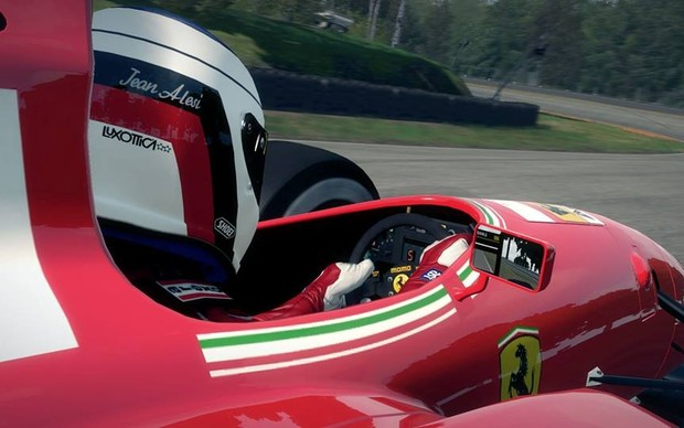 Jean Alesi em F1 2013 (Foto: Divulgação)