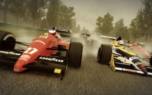 Carros clássicos estão presentes em F1 2013 (Foto: Divulgação)