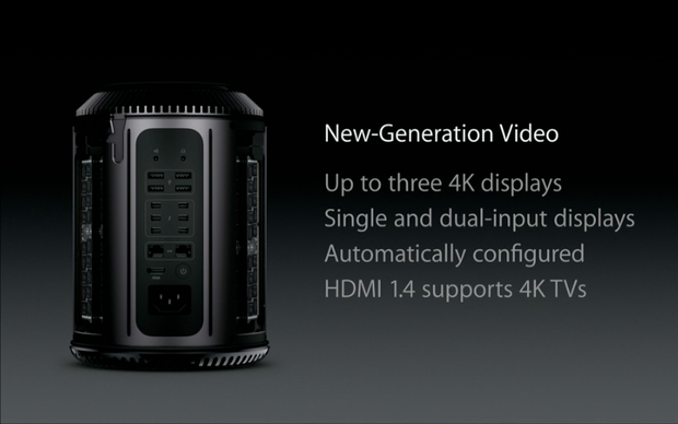 Mac Pro tem suporte a monitores 4K (Foto: Reprodução)