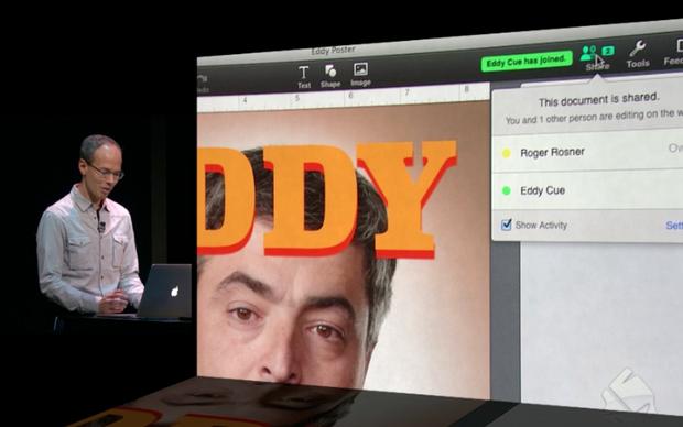 Keynote agora tem suporte a ediçao colaborativa (Foto: Reprodução)