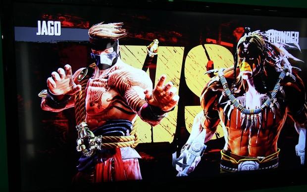 Killer Instinct traz luta acirrada e mostra os gráficos da próxima geração do Xbox na BGS 2013 (Foto: Pedro Cardoso/ TechTudo)