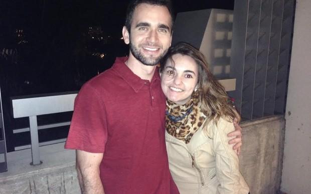 Francisco Valadares e sua esposa Emília também foram comprar o PS4 (Foto: Thiago Barros / TechTudo)