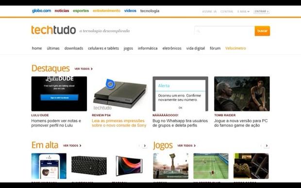 IE no Xbox One (Foto: Reprodução / Murilo Molina)