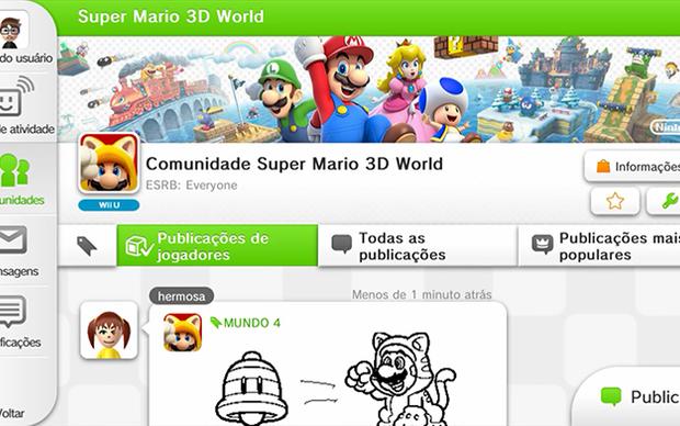 Review: Wii U aposta em segunda tela e rede social para a nova geração (Foto: Reprodução/Murilo Molina) (Foto: Review: Wii U aposta em segunda tela e rede social para a nova geração (Foto: Reprodução/Murilo Molina))