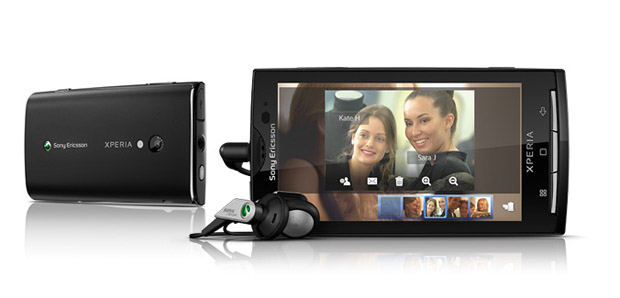 Sony Ericsson XPERIA X10 (Foto: Divulgação)