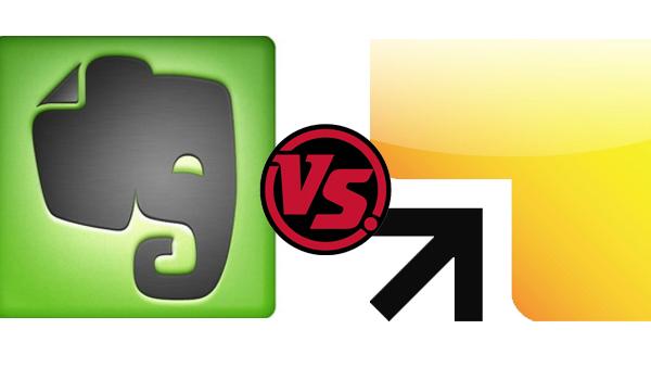 Evernote vs Springpad
