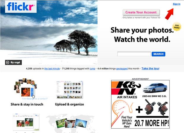 Flickr inicial