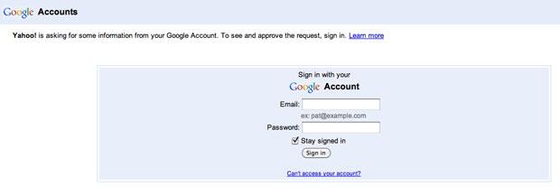 Flickr sign in