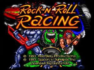 Um dos primeiros projetos, Rock n' Roll Racing, de 1993