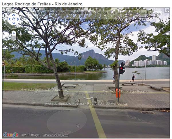 Lagoa no Street View