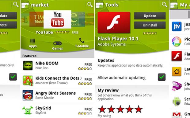 Novo Android Market (Foto: Divulgação)