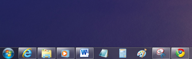 Quick Launch do Windows 7