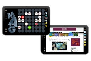 A tela touchscreen tem 11,6 polegadas