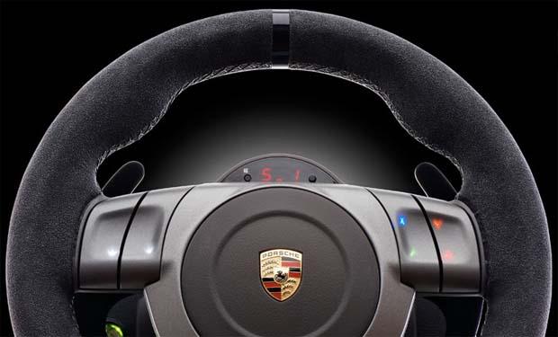 Volante Porshe 911 GT2 (Foto: Divulgação)