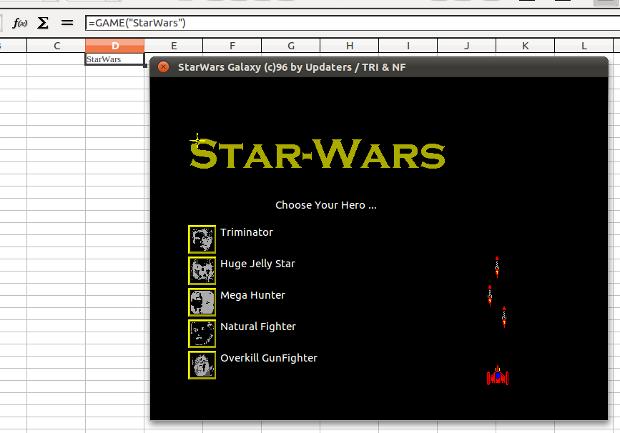 Star Wars no Open Office