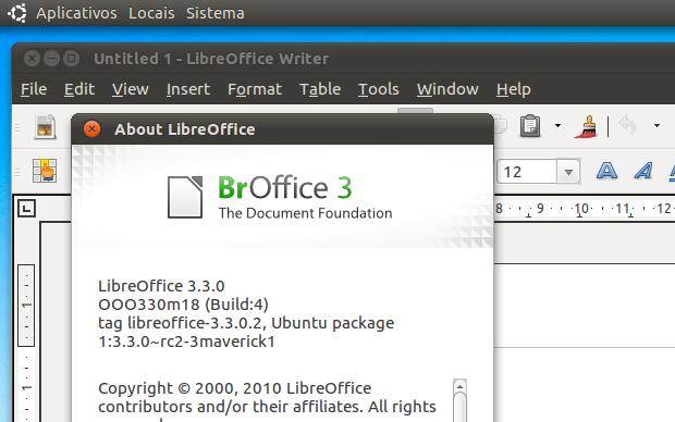 BrOffice 3 (Foto: Reprodução/Helito Bijora)