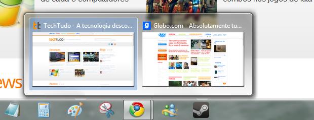 Chrome  no Windows 7 (Foto: Reprodução/Helito Bijora)