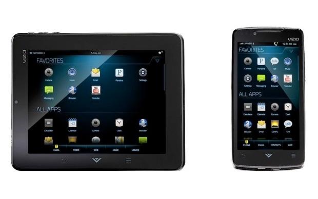 Via Tablet e Via Phone, ambos rodando Android (Foto: Divulgação)