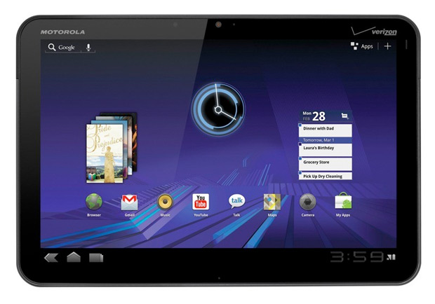 Motorola Xoom com Android 3.0 (Foto: Divulgação)