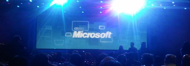 Apresentação de Steve Ballmer, CEO da Microsoft, na CES 2011 (Foto: Nick Ellis)