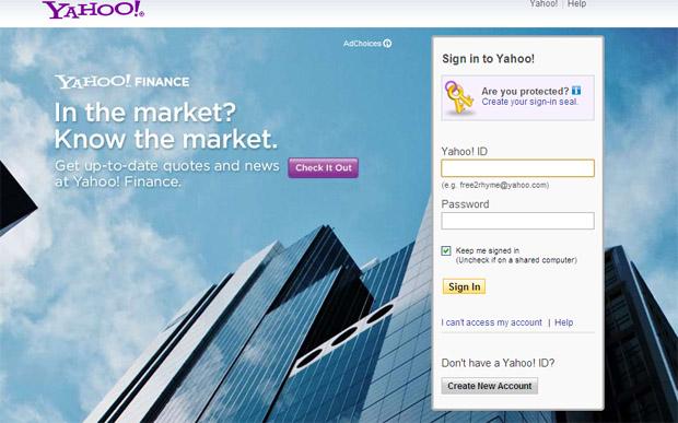 Yahoo Mail (Foto: Reprodução)