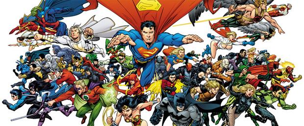 Os herois da DC Universe (Foto: Divulgação)