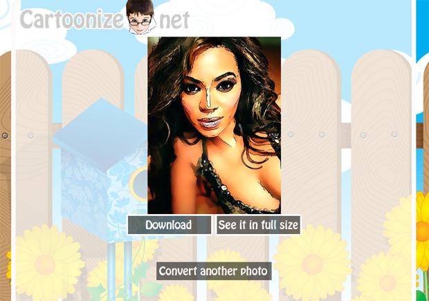 Cartoon da Beyonce (Foto: Reprodução)