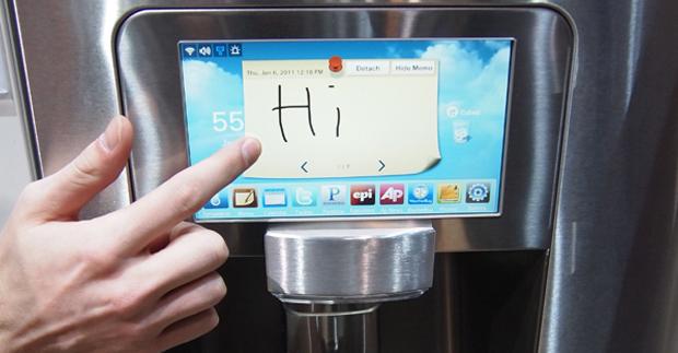 A geladeira da Samsung é perfeita para os internautas 'assaltantes de geladeira' (Foto: Divulgação)