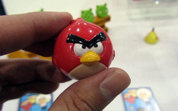 Miniatura de um dos pássaros de Angry Birds (Foto:  )