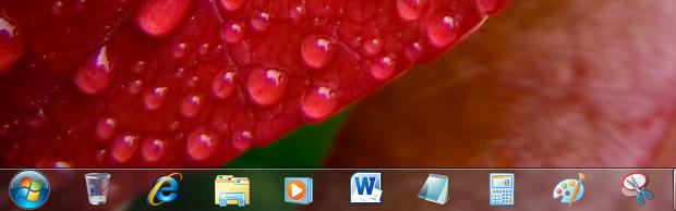 Superbar do Windows 7 (Foto: Reprodução/Helito Bijora)