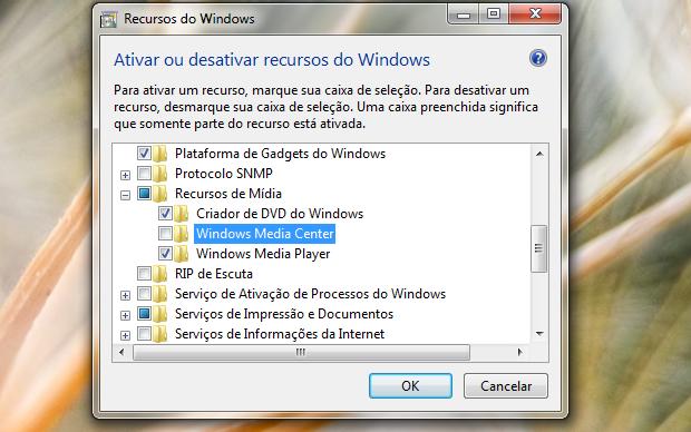 Windows Media Player (Foto: Reprodução/Helito Bijora)