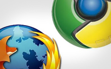 Firefox x Chrome (Foto: Arte)