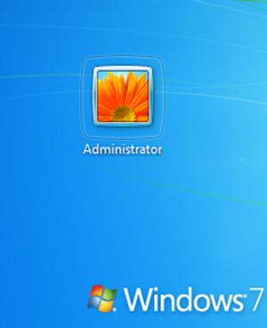 Usuário no Windows 7 (Foto: Reprodução)