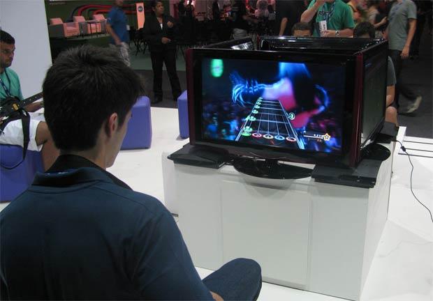 Jogos na Campus Party (Foto: Pedro Cardoso)