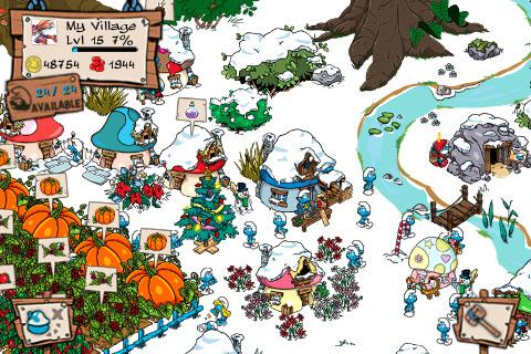 Smurf's Village, para iOS (Foto: Divulgação)