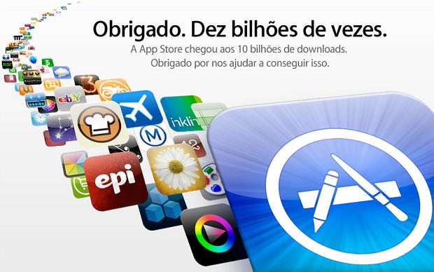 Agradecimento da Apple aos usuários (Foto: Divulgação)