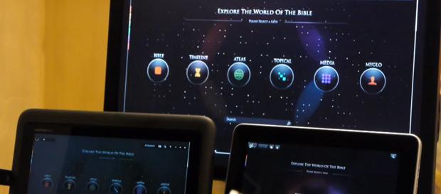 O GloBible tem versões para o iPad, Windows 7, e para os futuros tablets com o S.O. da Microsoft (Foto: Reprodução)