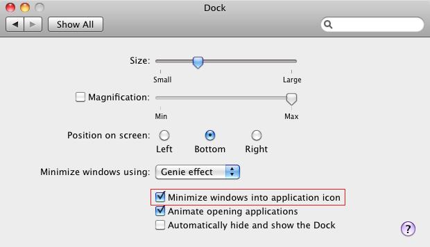 Minimizar janelas no Mac (Foto: Reprodução/Helito Bijora)