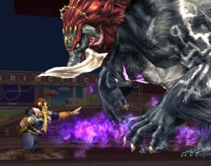 Ganon em Super Smash Bros Brawl no Nintendo Wii (Foto: Reprodução)
