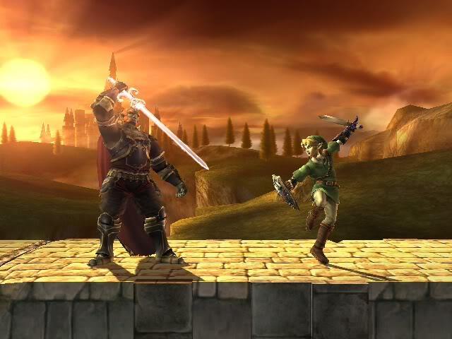Ganondorf vs Link (Foto: Reprodução)